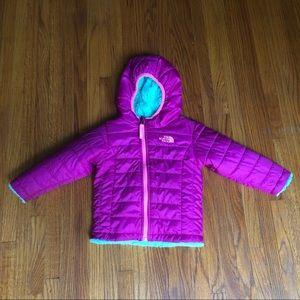 Northface Reversible Mossbud Swirl Jacket